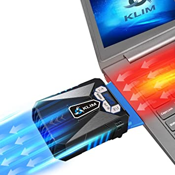 KLIM Cool Refroidisseur - PC Ventilo Portable Gamer - Ventilateur Haute  Performance pour Refroidissement Rapide - 1db8e5f4830e