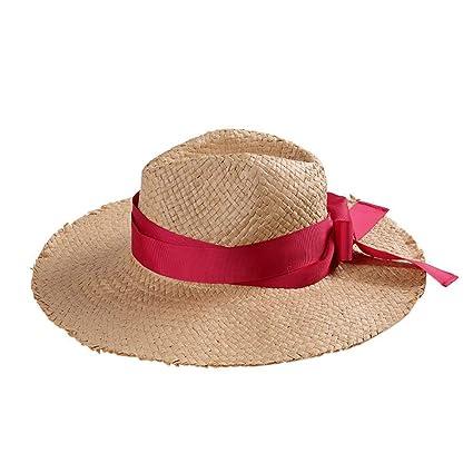 Eeayyygch Sombrero de Sol Sombrero de Paja Gorra de Arco Sombrero de Sol  Sombrero Redondo Grande 695f781c5bd