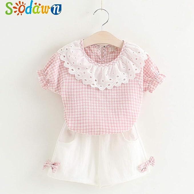 Amazon.com: Chitop Sodawn Fashion Girls Clothing Set - Summer Baby ...
