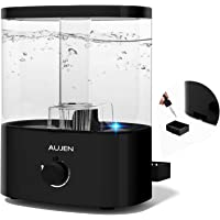 Aujen 5L Cool Mist Humidifier for Babies, 360° Nozzle Humidifier for Bedroom, Air Humidifier with Essential Oil Tray…