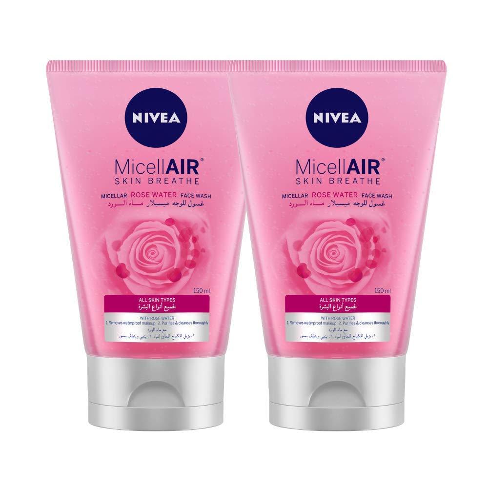 Nivea MicellAIR Skin Breathe Micellar Rose Water Face Wash