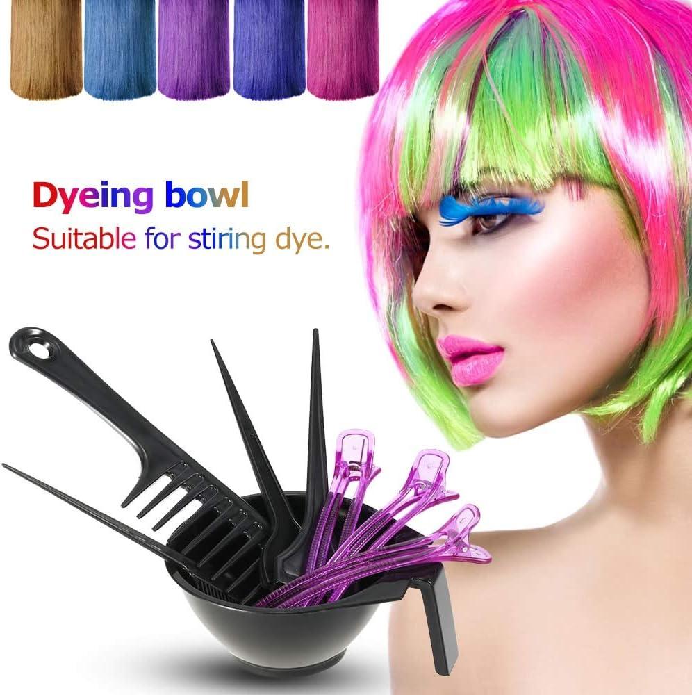 Pinzas Cabello Chica Kit para teñir el cabello Kit para teñir ...