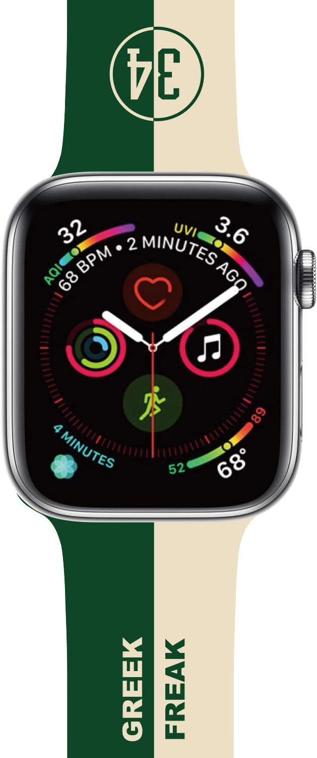 Basketball Design Compatible with Apple Watch Band 38mm/40mm/42mm/44mm,Classic Cute Fashion for Kids Men Boys Character Silicone Band Compatible iWatch SE,Series 5,Series 4,Series 3,Series 2,Series 6