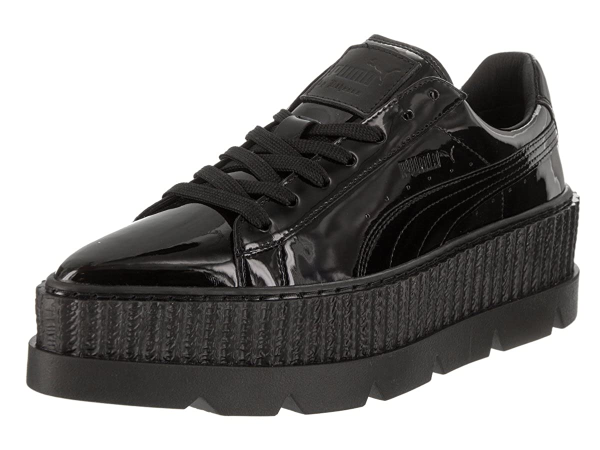 6bde5a45018 PUMA Women s Fenty Pointy Creeper Patent Black Casual Shoe 6.5 Women US   Amazon.co.uk  Shoes   Bags