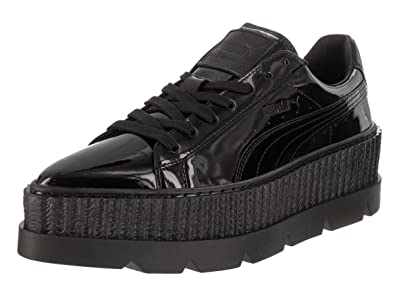 57a7bd8231b0f2 PUMA Women s Pointy Creeper Patent Puma Black 5.5 ...