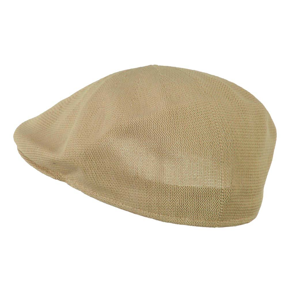 6d4ce1f2c33 Mens Knitted Polyester Ivy Ascot Newsboy Hat Cap Khaki Tan at Amazon Men s  Clothing store