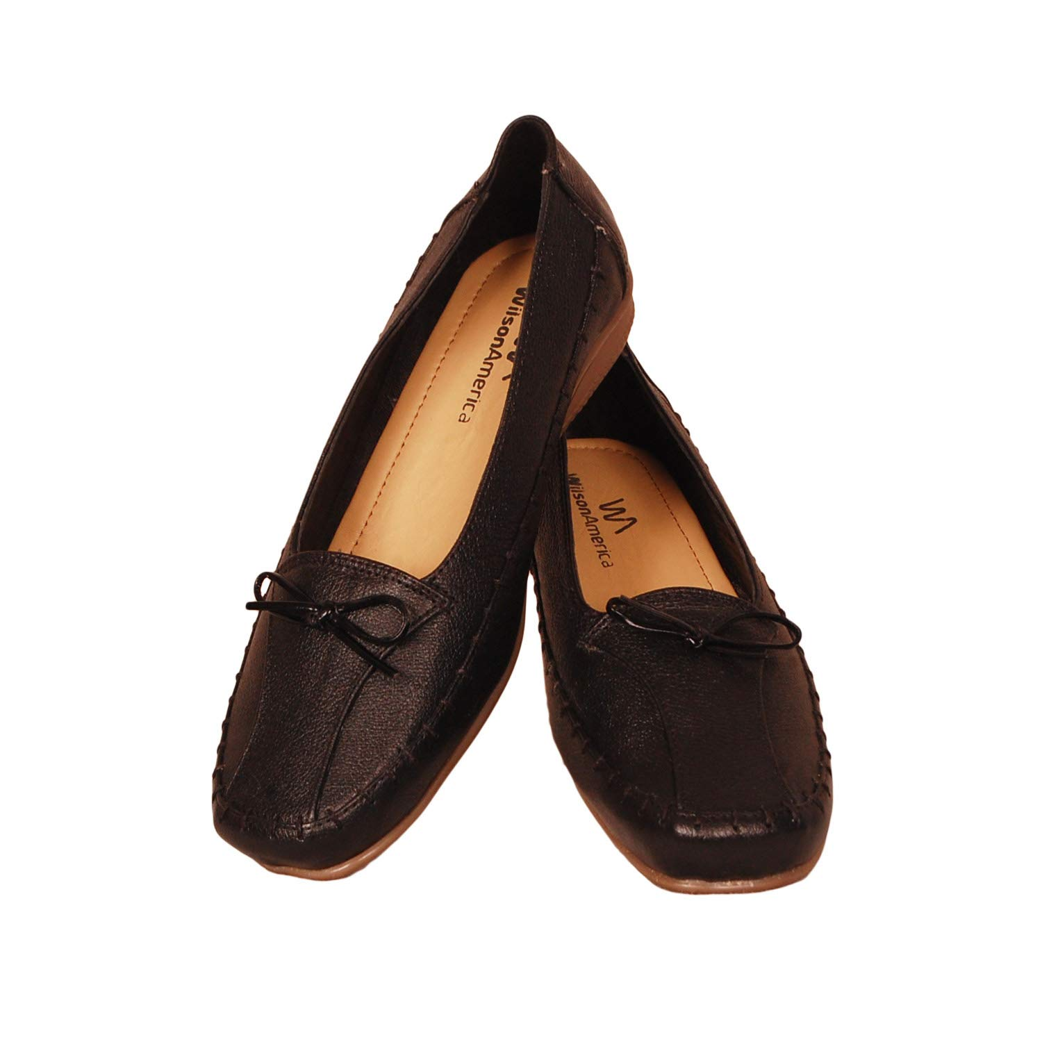 Casual Leather Ballies Shoes for Womens