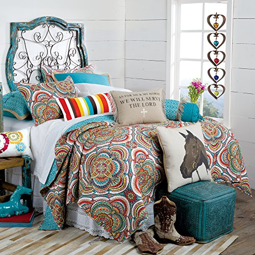 As For Me and My Horse Quilt, Full/Queen (Western Bedding Full compare prices)