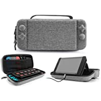 IFORU Funda para Nintendo Switch Estuche/Case Protector de Tela Oxford para Nintendo Switch (Medio)