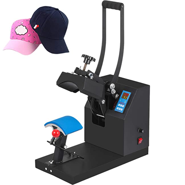 Best Compact Hat Heat Press Machine: Mophorn Cap Press 3.5x5.9