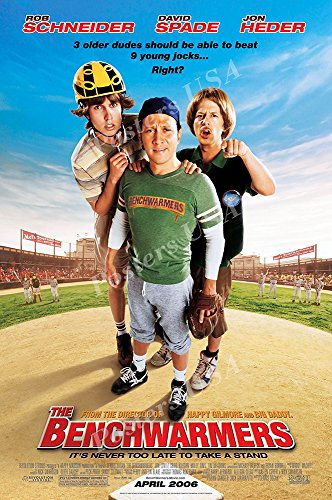 """Posters USA - The Benchwarmers Movie Poster GLOSSY FINISH) - MOV519 (16"""" x 24"""" (41cm x 61cm))"""