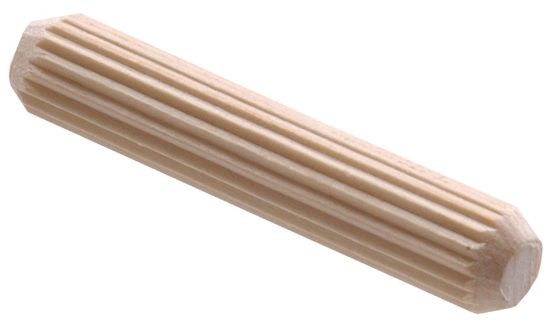 The Hillman Group 53027 3/8 x 2-Inch Groove Dowel Pin, 20-Pack