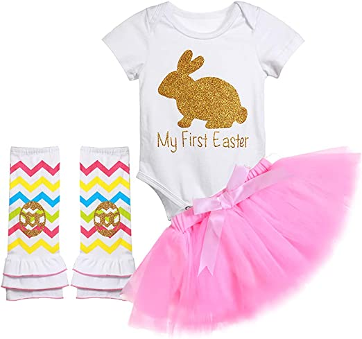 New Baby Girl Bunny Dress First Easter Size 9-12 Months Pink Rabbit