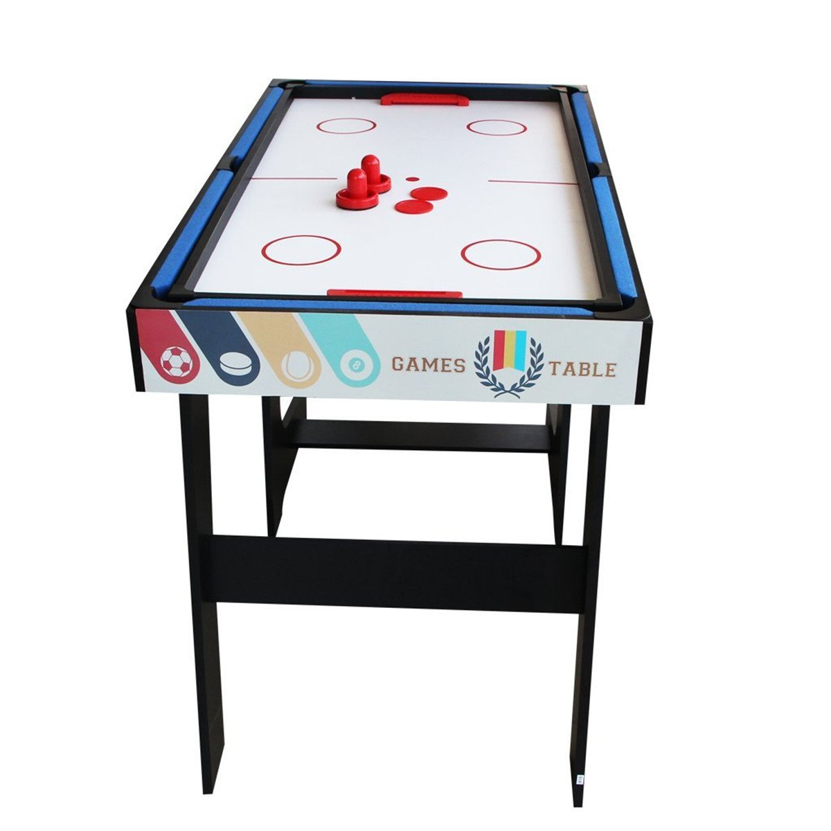 Deluxe 5 in 1 Top Game Table Folding Table-Table Tennis,Glide Hockey,Chess,Pool,Basketball Set by QYBK (Image #5)