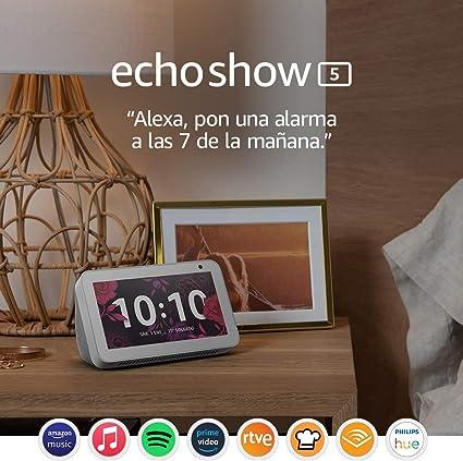 Comprar Echo Show 5: mantén el contacto con la ayuda de Alexa, blanco