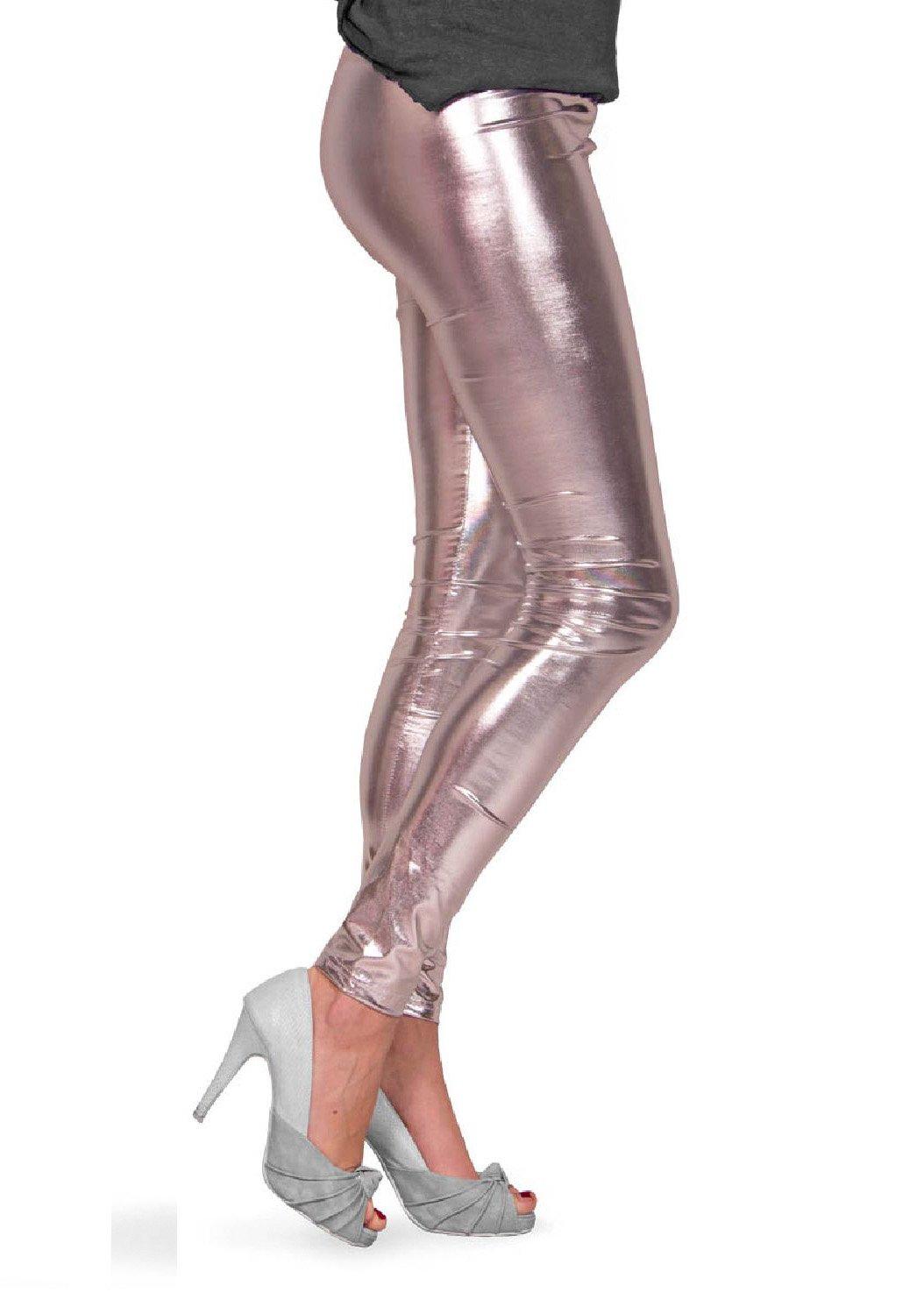 S-M Leggings oro metallizzato