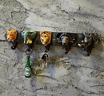 Gou Retro modelos animales/ganchos/perchero de pared ...