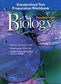 Amazon prentice hall biology student edition 9780130507303 prentice hall miller levine biology standardized test prep workbook 2004c fandeluxe Choice Image