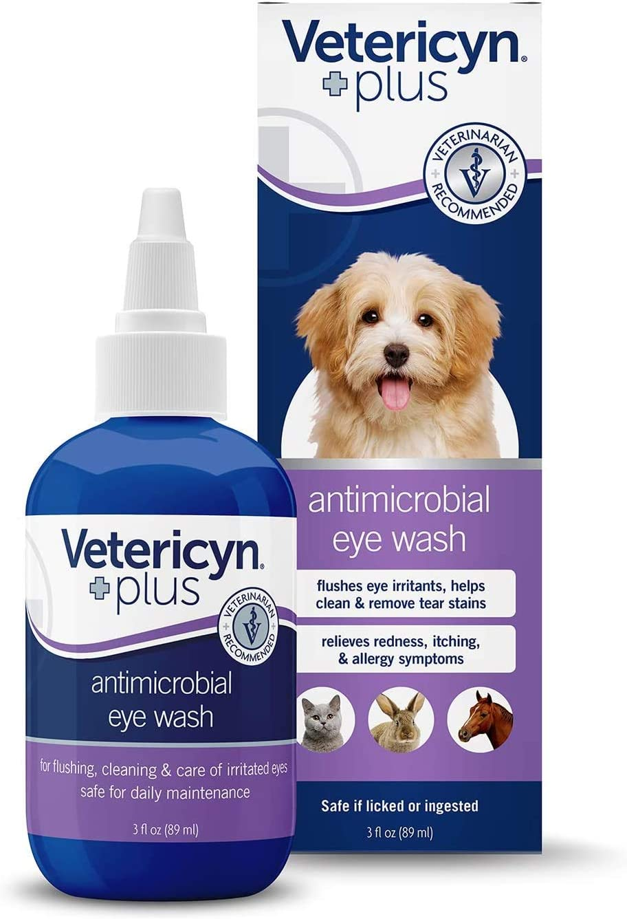 Vetericyn Plus Antimicrobial Pet Eye Wash