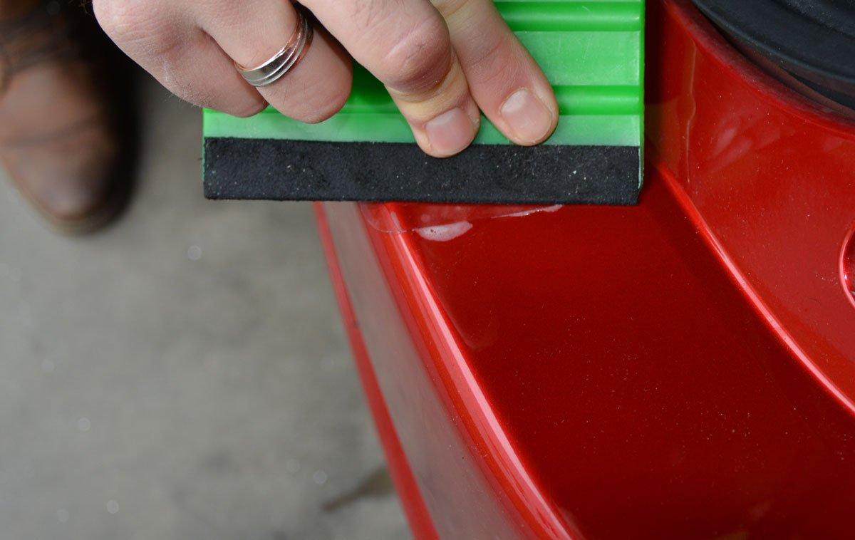 1311-106 V-Protect Ladekantenschutz Lackschutzfolie Transparent 240/µm