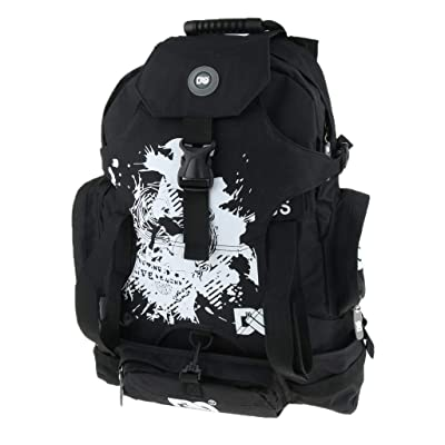 Injoyo Roller Skates Shoes Backpack Professional Storage Bag for Roller Skates, Inline Skates, Ice Skates, Speed Skates, Ultralight, Heavy Duty - Black B : Sports & Outdoors