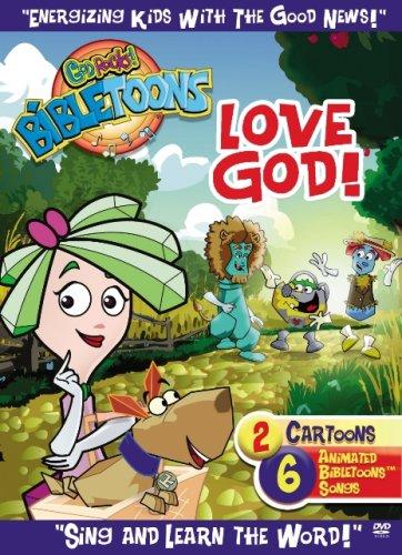 BibleToons - Love God by God Rocks (DVD Video 2007) (God Rocks Bibletoons)