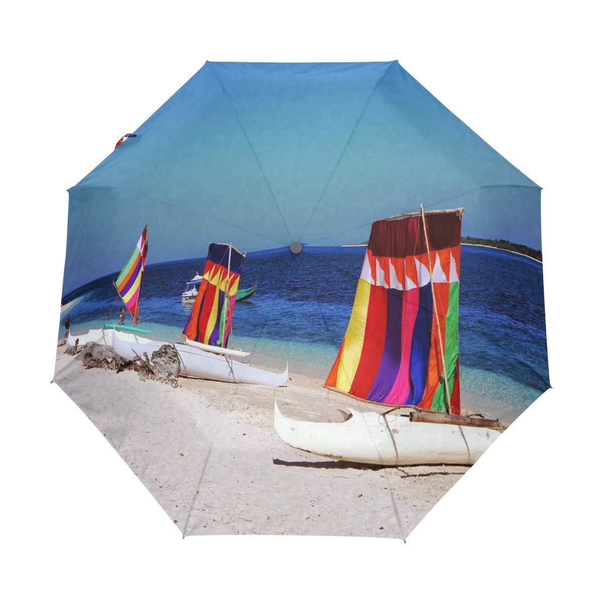 OuLian 傘 多額 ゴルフ 旅行 太陽 雨 防風 自動傘 UV保護 女の子用 男の子 子供用 B07QTZNSGV パターン4 37.8\