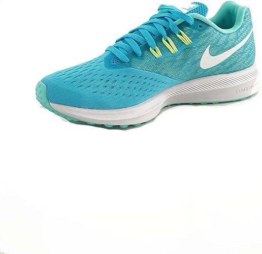 Zapatilla Running Nike Zoom Winflo 4 Turquesa: Amazon.es: Zapatos y complementos