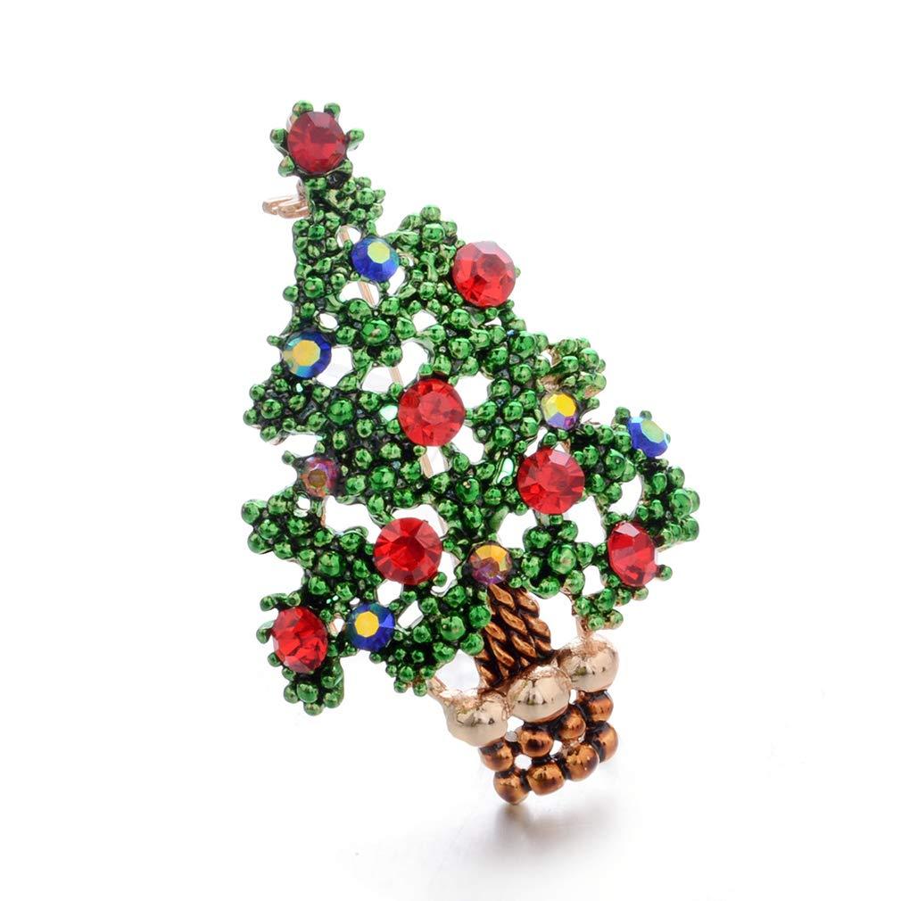 Girlande Bogen LIGHTBLUE Hellblau bunten Strass Kristall Weihnachten Brosche Schals Schal Clip f/ür Weihnachtsschmuck Ornamente Geschenke