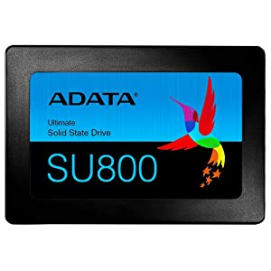 ADATA SU800 256GB 3D-NAND 2.5 Inch SATA III High Speed Read & Write up to 560MB/s & 520MB/s Solid State Drive (ASU800SS-256GT-C)