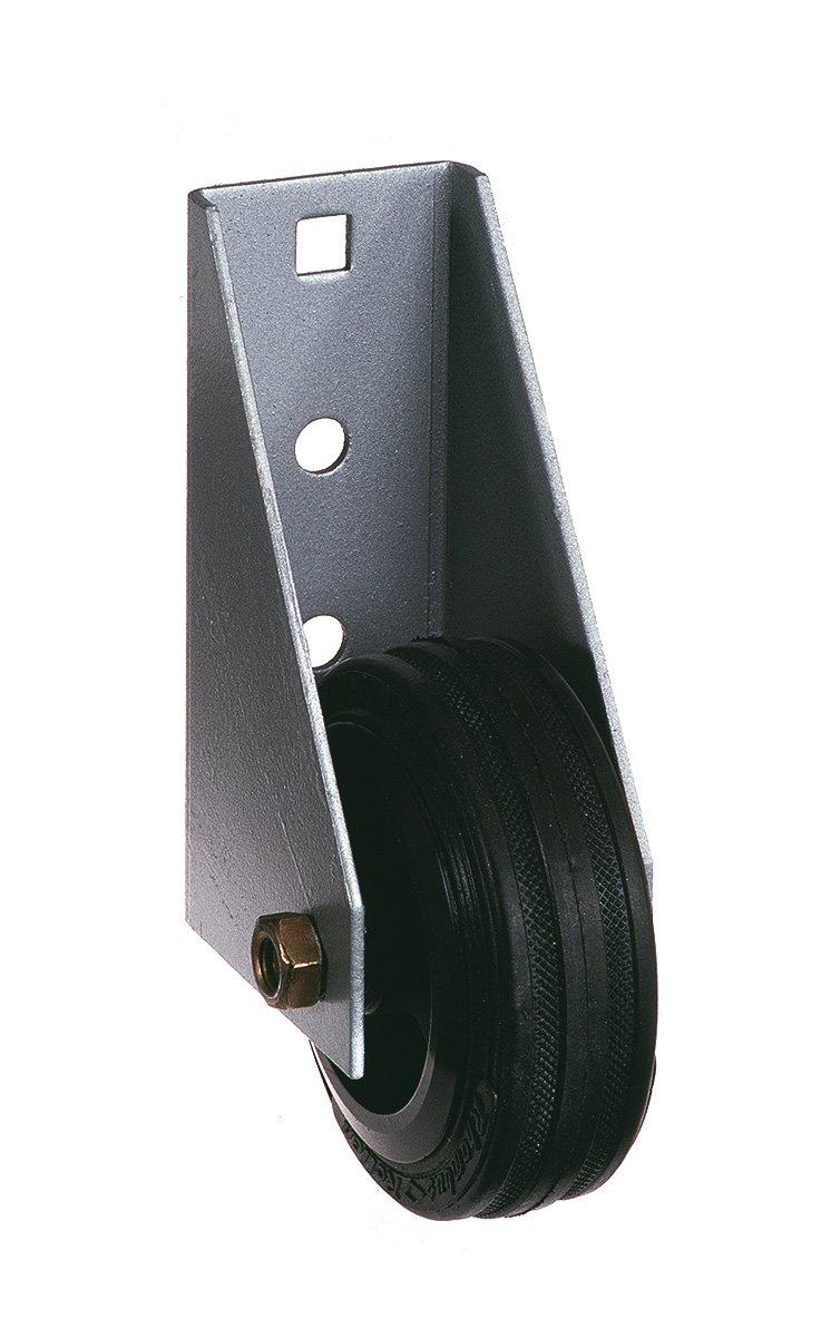 GAH-Alberts 214364 Torlaufrolle, fü r schwere Tore, zum Anschrauben, feuerverzinkt, Ø 80 mm