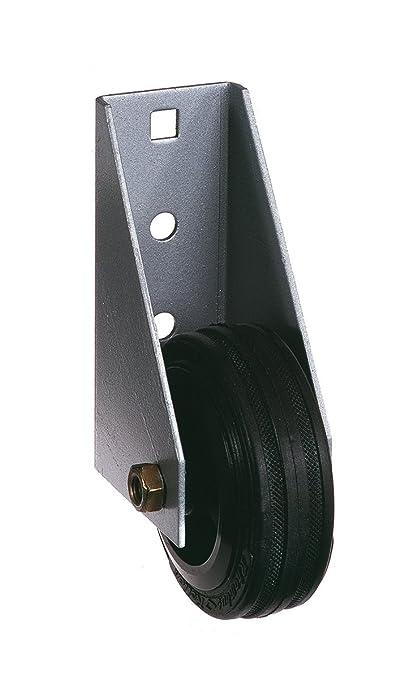 GAH-Alberts - Rueda para portones pesados (atornillable, acero galvanizado en caliente)