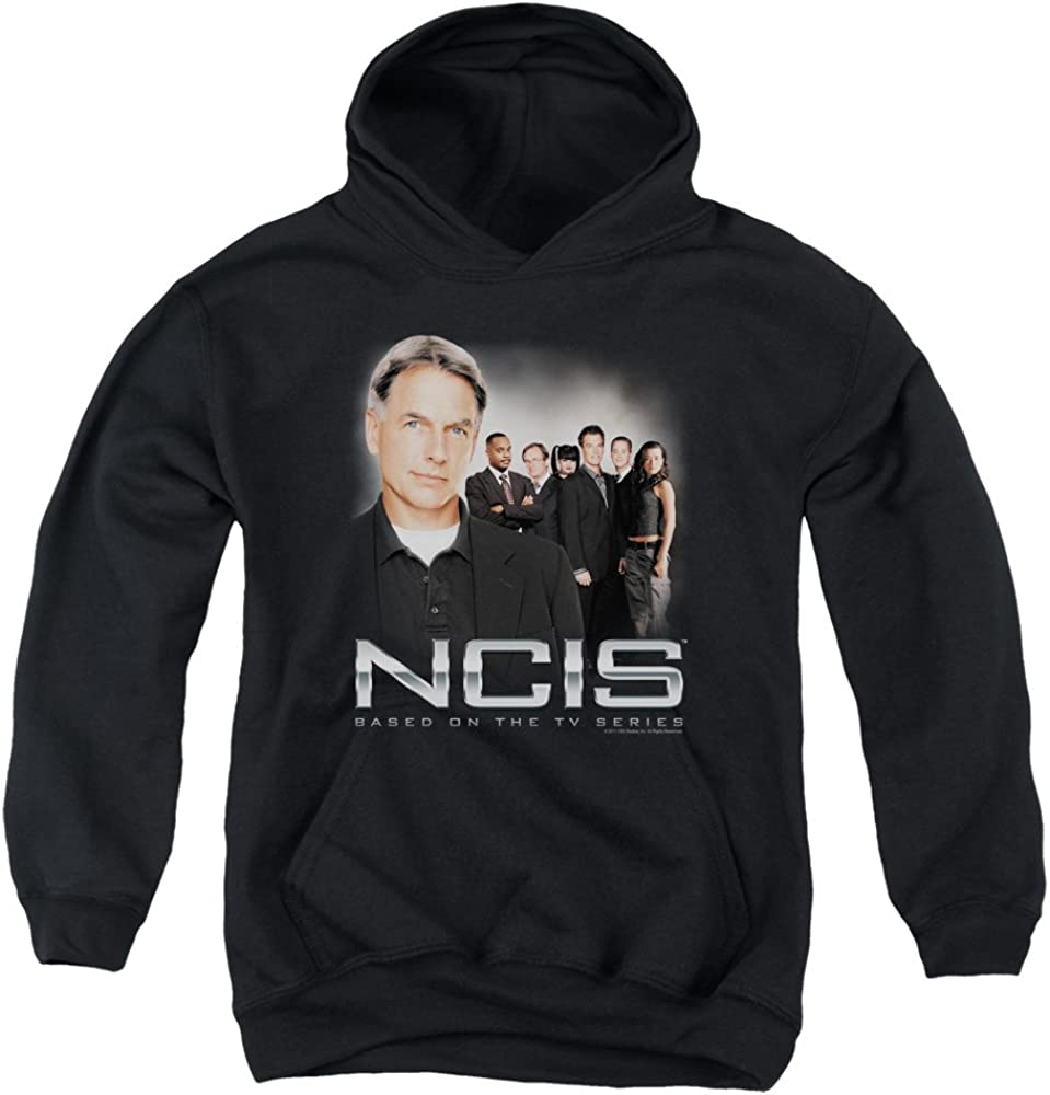 NCIS CBS TV Show Gibbs Investigators Cast Big Boys Youth Pull-Over Hoodie