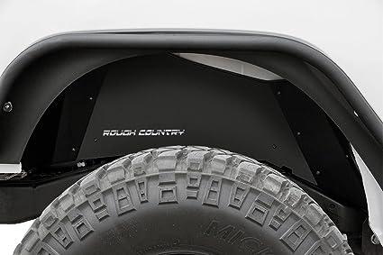 Amazon.com  Rough Country 10500 - Rear Steel Inner Fenders Fender ... 59d757d8f