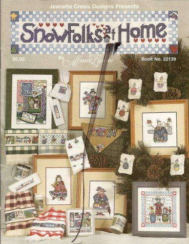 Snowfolks At Home, Cross Stitch Jeanette Crews Designs