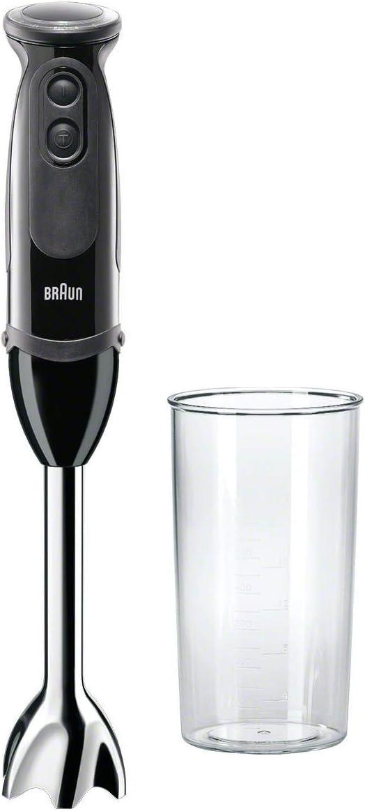 Braun MQ5000 Hand Blender Multiquick Vario, MQ5000, Black