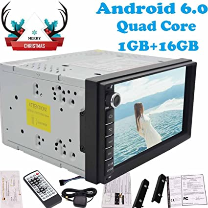 7 Quad Core 1GB RAM+16G ROM automagnitol Android 6.0 Double din autoradio 2 din
