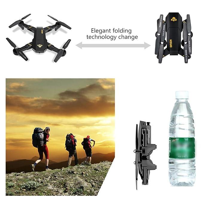 Amazon.com: Koeoep – Drone cuadricóptero RC con ...