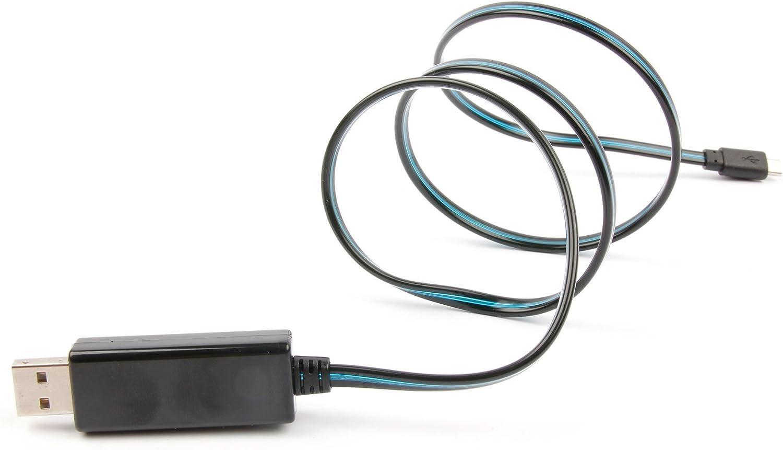 Compatible with The ASUS Google Nexus 8|Google Nexus 7 II and The Original Google Nexus 7 Tablet 8GB 16GB 32GB DURAGADGET Flashing LED Light-Up Micro USB Data Sync Cable
