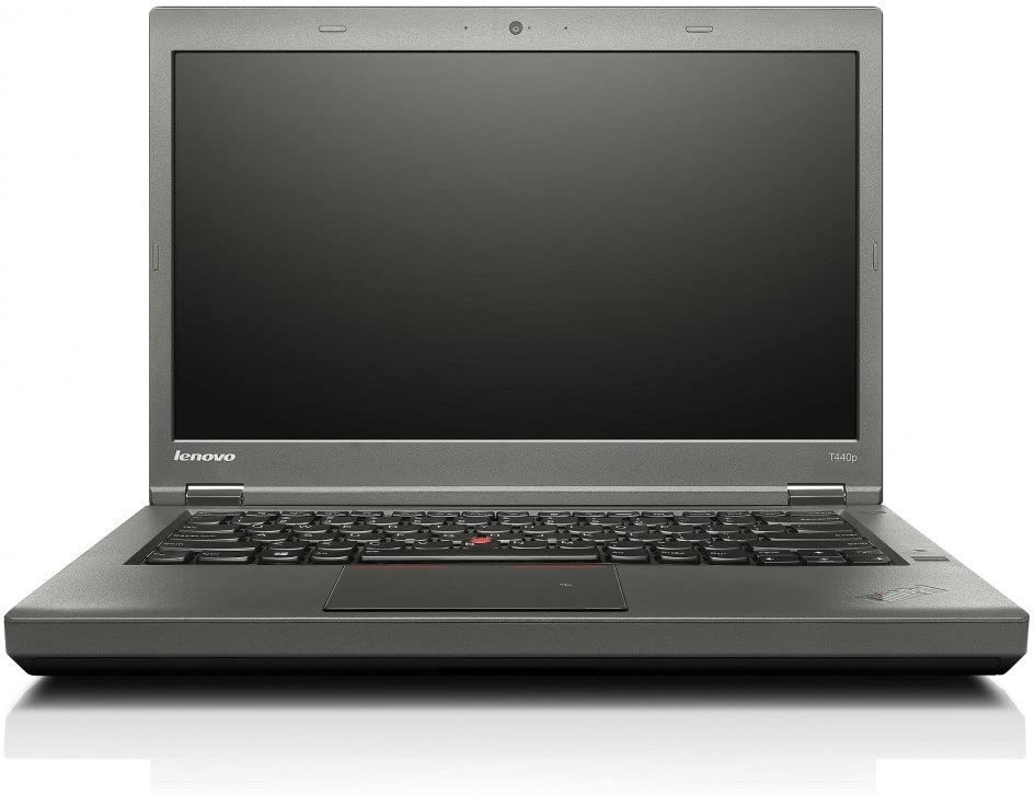 "Lenovo ThinkPad T440P 14"" Laptop Computer Intel i5-4300M up to 3.3GHz 8GB RAM 128GB SSD Windows 10 Professional (Renewed)"