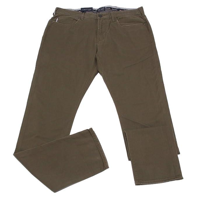 Armani 0868X Pantalone 5 Tasche uomo Jeans J06 Green Trouser ...