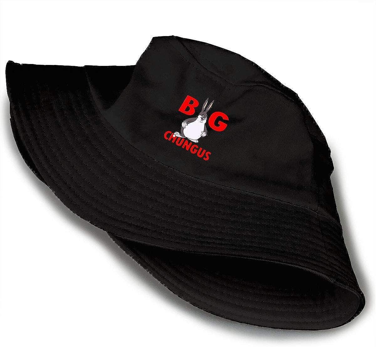 Big Chungus Fashion Sunshade Unisex Hip-Hop Bucket Hat Fisherman Cap
