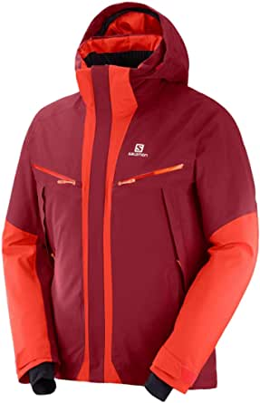 Salomon Men's Icecool Jacket, Biking RED/Fiery RED, 2XL