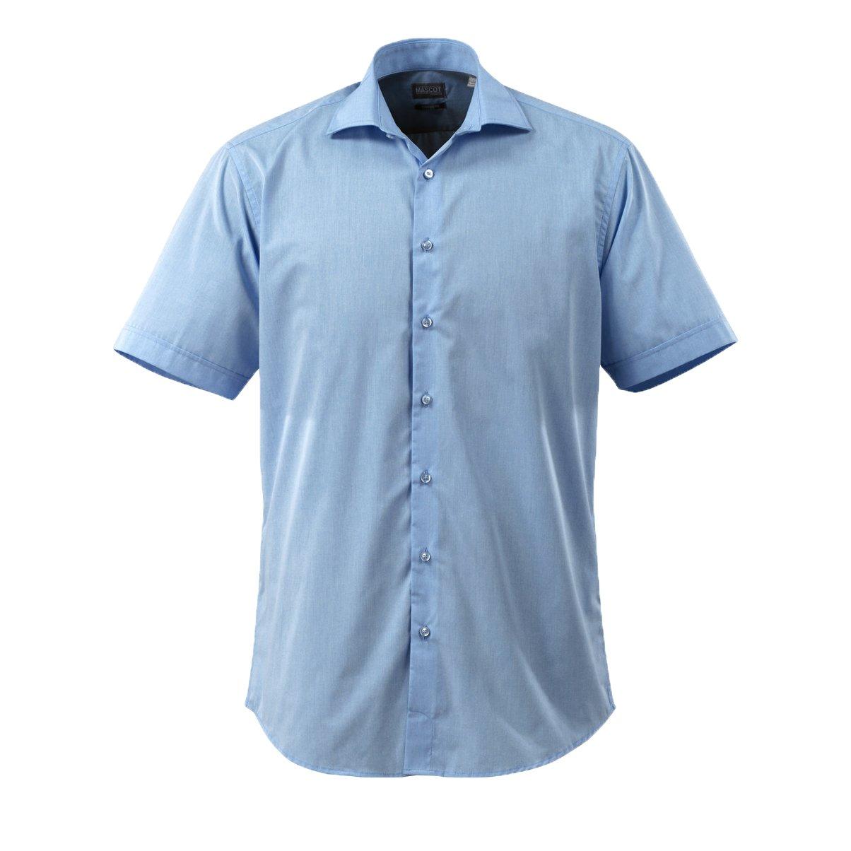 LIGHT Blue Mascot 50632-984-71-37-38 Shirt/Poplin/Long-Sleeved/Size 37-38