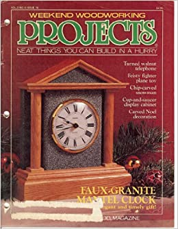 Weekend Woodworking Projects November 1990 (Neat Things You Can ...