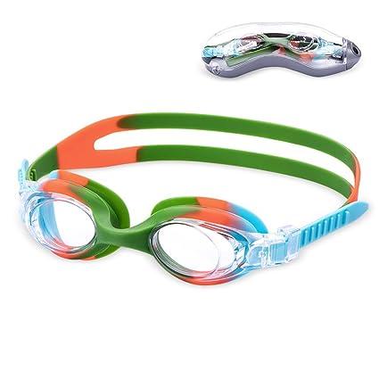 3431a650e901 Amazon.com   Aegend Kids Swim Goggles
