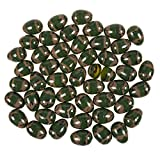48-Count Plastic Easter Eggs - Camouflage Surprise Party Favor Eggs with Hinge Closure, 1.6 x 2.3 x 1.6 Inches