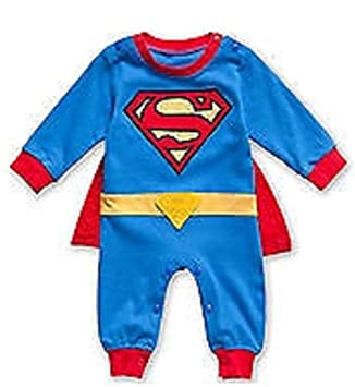96e5593d4 SUPERMAN BATMAN SUPERGIRL BABY GROW FUNKY CUTE FANCY DRESS OUTFIT ...