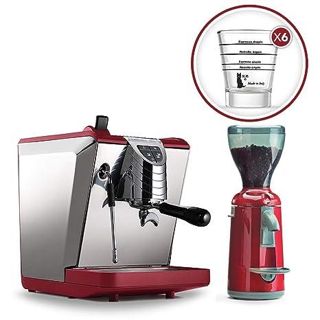 LaGondola Bundle – Máquina Caffe Espresso Nuova simonelli Oscar II macinacaffe Grinta con temporizador