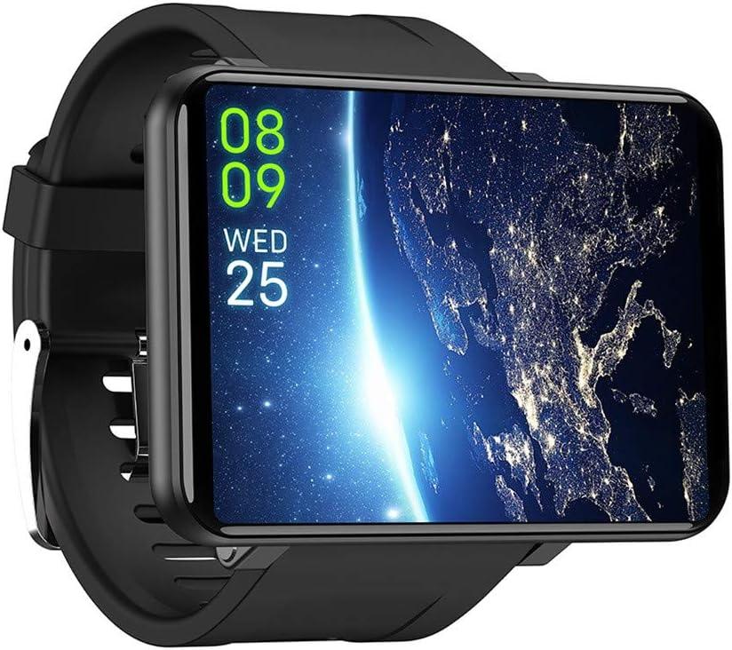 Riou Reloj Inteligente, Smart Watch Phone (3GB + 32GB RAM) para Tarjeta SIM de Memoria Cámara Frontal de 8.0MP con desbloqueo Facial Multifuncional Teléfono Inteligente 4G